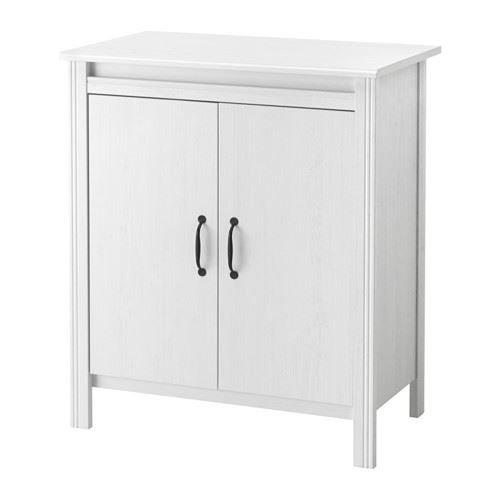 BRUSALI - Armoire avec portes, blanc