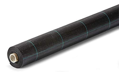 Bermüller & Co GmbH Unkrautgewebe | Bändchengewebe | Bodengewebe | Unkrautfolie | Unkrautvlies | Unkrautschutz | 2 x 50 m – 100g/qm