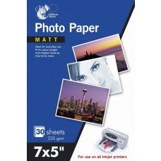 60 Sheets Matt Photo Paper 7 x 5