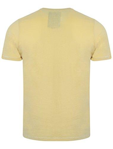 New Herren Tokyo Laundry Spring T-Shirt Top Größen S- XL Popcorn