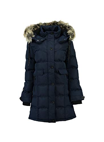 Geographical Norway - Doudoune Femme Calory Marine-Taille - 3