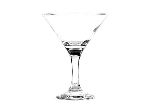 12 Martini-gläser-set Von (Pasabahce Bistro Set Kelche  für Martini, Glas, Transparent, 15 cl, 12 Stück)