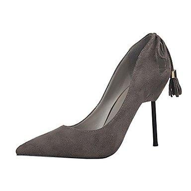 Moda Donna Sandali Sexy donna tacchi tacchi Estate Felpa casual Stiletto Heel altri nero / rosa / rosso / grigio chiaro / mandorla arancio / Altri Black
