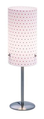Quandt 6002286400 Nachttischlampe Tischleuchte Classic Renaissance gepunktet / pink von Quandt bei Lampenhans.de