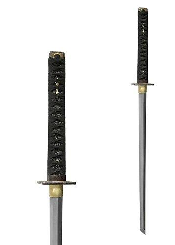 Practical Ninja-To mit weißer Samé + echte Hamon + scharf + echt von Hanwei (Echte Ninja)