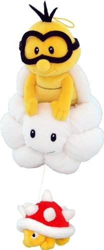 "Super Mario - Lakitu Plush - Little Buddy - 20cm 8"""