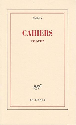 Cahiers: (1957-1972)