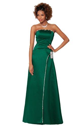 SEXYHER Herrliches bodenlangen Strapless Brautjungfern formales Abend-Kleid - EDJ1590 (Kleid Strapless Brautjungfer)