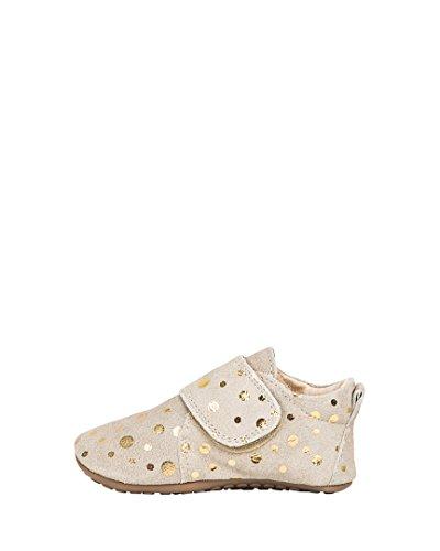 Pom Pom Schuhe Golden