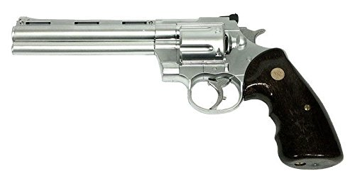 "Cobra Tactical Solutions SRC Colt Python Revolver 5""- 13cm Airsoft Gas Revolver, 0.5 Joules, ABS"