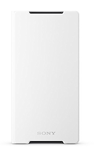 Sony Etui Folio en plastique pour Xperia Z2 Blanc