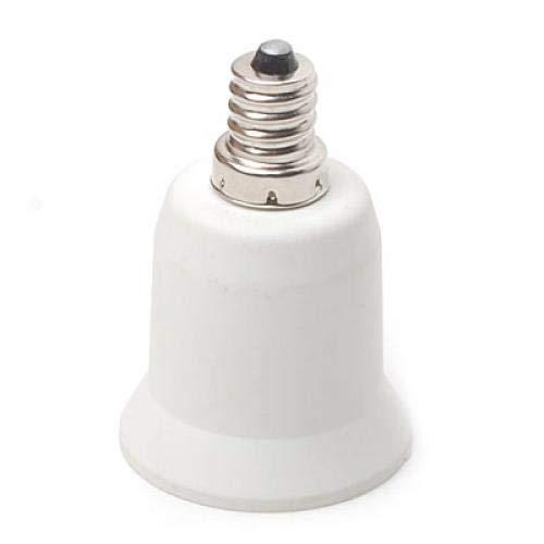 Einem Kandelaber-buchse (Unbekannt E12 auf E27 Kandelaber Licht Lampen Buchse Vergroesserungsapparat Adapter)