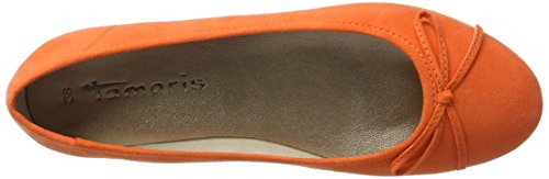 Tamaris 22150, Ballerines Femme Orange (ORANGE 606)
