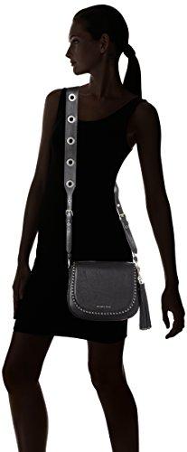 Michael Kors  30f6abnm2l, sac bandoulière femme Noir mat