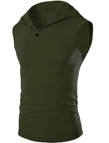 eku-mens-8-color-hooded-sleeveless-vest-tank-tops-army-green-us-l