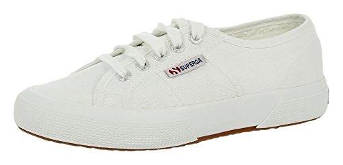 Superga 2750-COTU CLASSIC S000010 Unisex-Erwachsene Sneaker Weiß (White 901)
