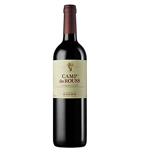 "Coppo - Barbera D'Asti Superiore ""Camp Du Rouss"" - 3 Bottiglie da 0,75 lt."