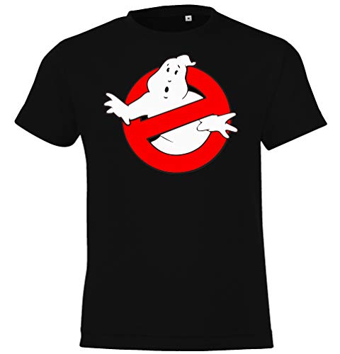 Kinder T-Shirt Modell Ghostbusters, Gr. 106/116 (6 Jahre), Schwarz - Ghostbusters T-shirt Tee