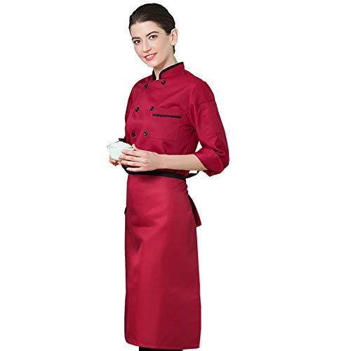 (Lsgepavilion Unisex-Kostüm mit Tasche, langärmlig, Polyester, rot, Large)