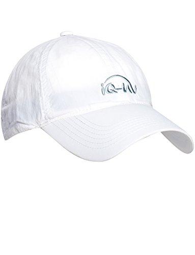 iQ-UV 200 Sonnenschutz Cap Kappe, White, 55-61 cm (Weißes Tuch Cap)