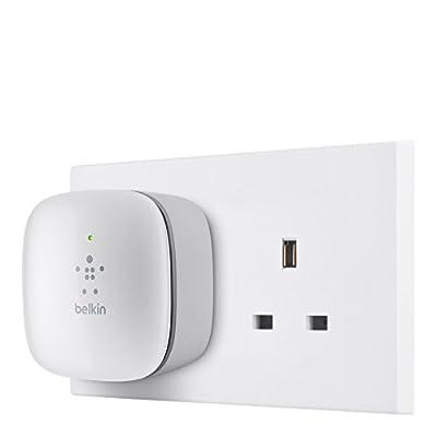 Belkin Wall Plug Mounted Universal Wi-Fi Range Extender/Wireless Signal Booster