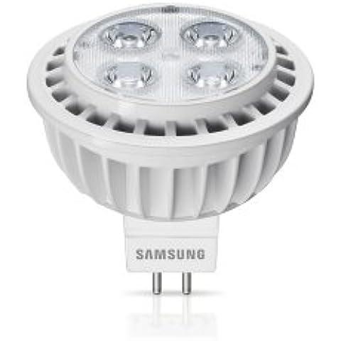 Samsung SI-M8W07SAD0EU - Lámpara LED (A, Blanco cálido, Plata, Color blanco, 50/60)