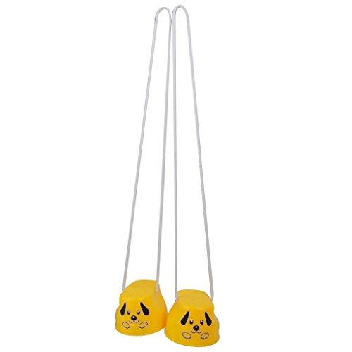 Gazechimp Kinder Balancetraining Lächeln Fuß Stelze Übung Spielzeug Geschenk 1pair Zufällige Farbe