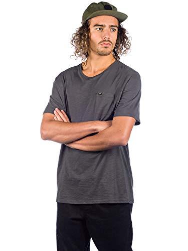 O'Neill Herren Jacks Base Regular Fit T-Shirt, Grau (Asphalt), M -