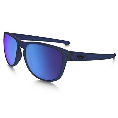 Oakley sliver r 934209, occhiali da sole uomo, blu (translucent bluee/sapphireiridium), 57