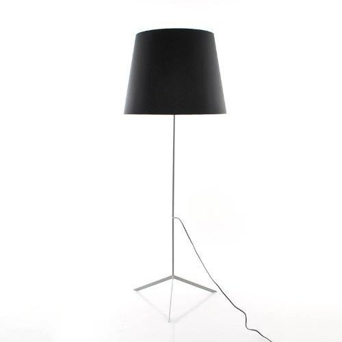 double-shade-lampada-da-terra-design-schwarz-kunststoff