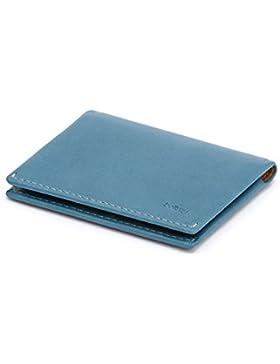 Bellroy Slim Sleeve, cartera delgada de piel (máx. 12 tarjetas y efectivo)