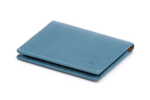 3507d11358 Portafoglio Bellroy Slim Sleeve in pelle da uomo Arctic Blue