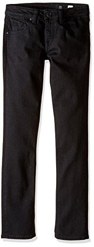 Volcom Kinder Jeans 2x 4by, Kinder, C1931500_26, Schwarz (New Black), 26 (Jeans Volcom Jungen)