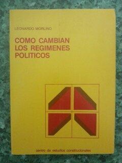 Como cambian los regimenes politicos