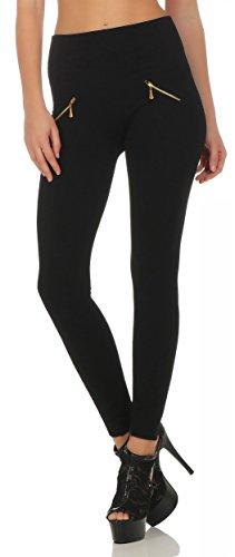AE - Legging - Jegging - Femme Noir