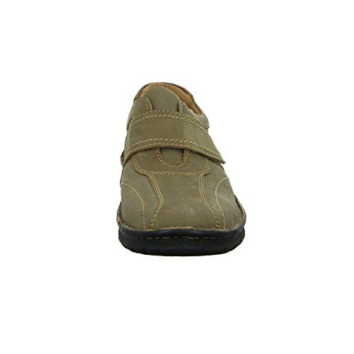 scarbello Y01-Y01-02 Herren Slipper Halbschuh Komfort sportlicher und eleganter Boden Grün (Grün)