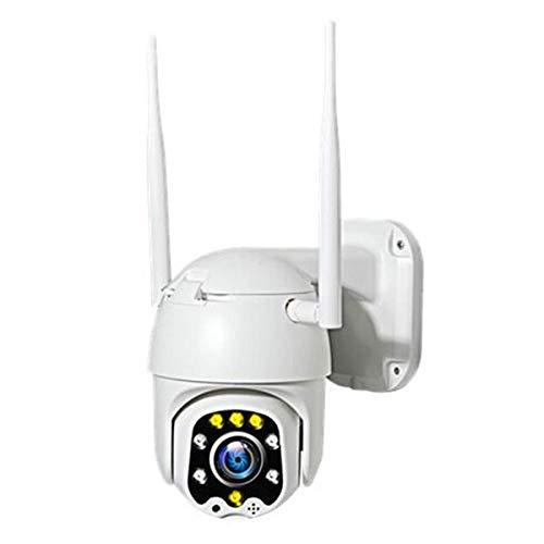 DUNAIFEN PTZ IP Dome Kamera Aussen Überwachungskamera WLAN Outdoor, Zweiwege-Audio 20M IR-Nachtsich, IP66 Wasserfest, Bewegungsmelder