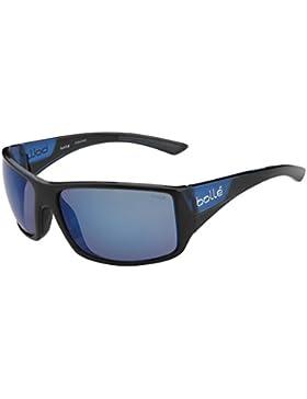 Bollé Tigersnake Gafas, Unisex Adulto, Multicolor (Matte Black/Shiny Blue), L