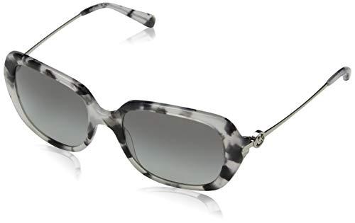 Michael kors 0mk2065 occhiali da sole, grigio (grey tort), 54 donna