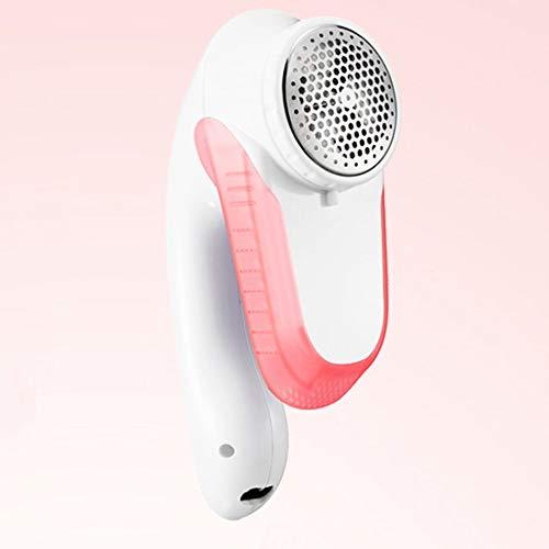 WEIWEITOE-DE Super Power Haar Ball Trimmer Hause Aufladen Rasierapparat Kleidung Zum Ball USB Elektrorasierer, rosa,