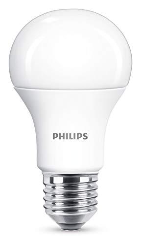Philips Bombilla LED E27, 11 W, luz blanca
