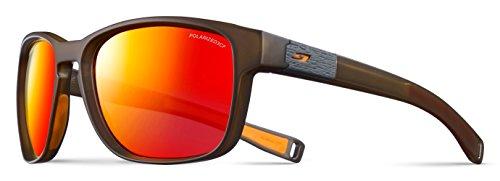 Julbo Paddle Sonnenbrille Unisex Erwachsene, transparent Army/Orange (Brillen Schwimmende Kordel)