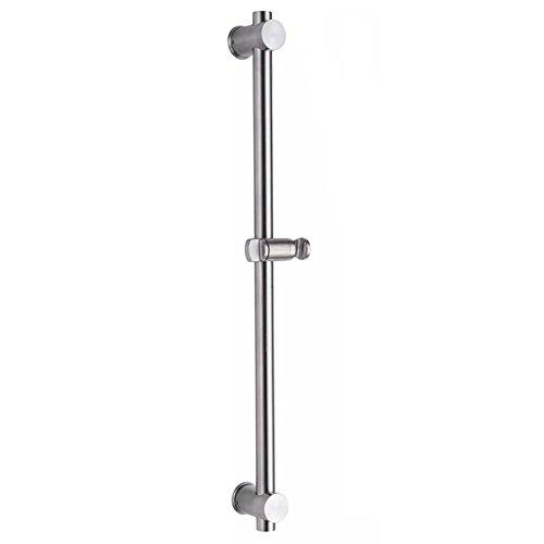 """26""""pouces barre de douche Acier inoxydable 304 adjustable avec support pour douchette 60cm"""
