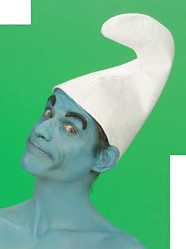 7 x Zwergenmütze Mütze weiß Zwerg Fasching Karneval fürs Kostüm Schlumpf