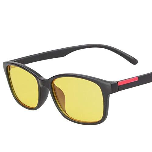 LUHOU Anti-Strahlungs-GläserZur Linderung Ermüdung Gläser Anti-strahlung Gläser Anti-blu-ray Computer Spiel Flachlichtbrille Männer Frauen Brilleantiuv schwarz