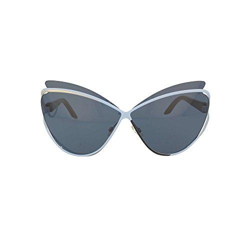 Dior 4CB Blau Gold Schwarz Audacieuse1 Cats Eyes Sunglasses Lens Category 3