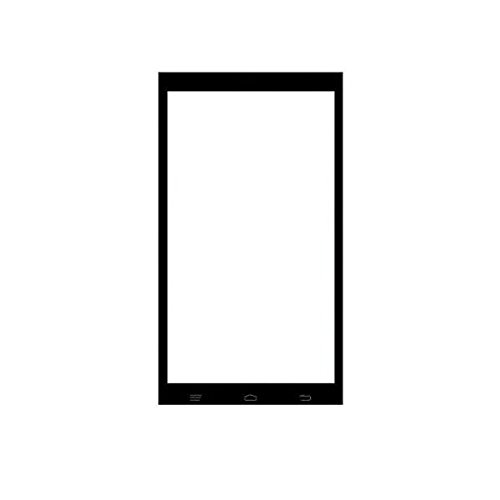 Riocci Premium MICROMAX A107 Touch Screen Digitizer - BLACK  available at amazon for Rs.799
