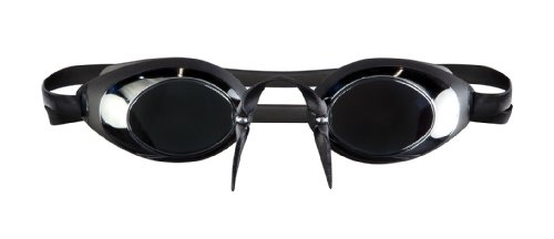 TYR Verspiegelte Schwimmbrille Lo-Pro smoke (Goggles Pro Racing)