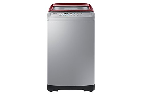 Samsung WA62H4300HP/TL Fully-automatic Top-loading Washing Machine (6.2 Kg, Light Grey and Sparkling Scarlet Wine)