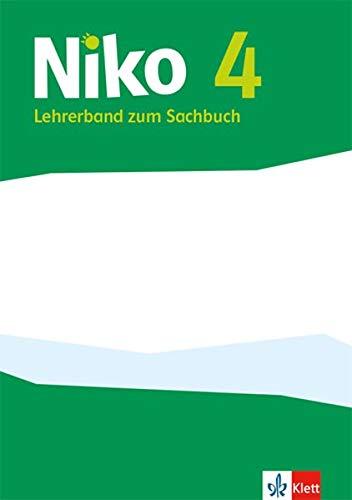 Niko 4: Lehrerband mit Kopiervorlagen Klasse 4 (Niko Sachbuch. Ausgabe ab 2017)